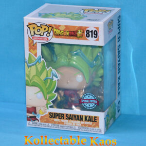 Dragon Ball Super - Super Saiyan Kale with Energy Base Pop! Vinyl Figure