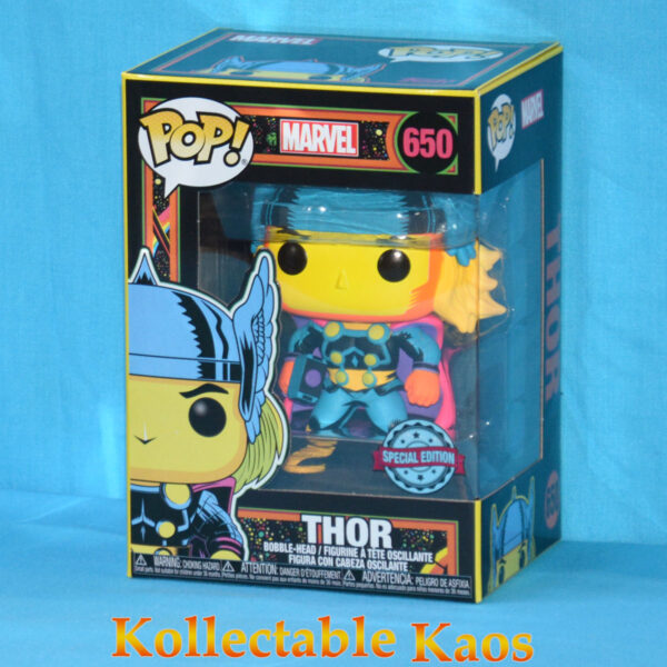 Marvel: Blacklight - Thor Pop! Vinyl Figure (RS) #650