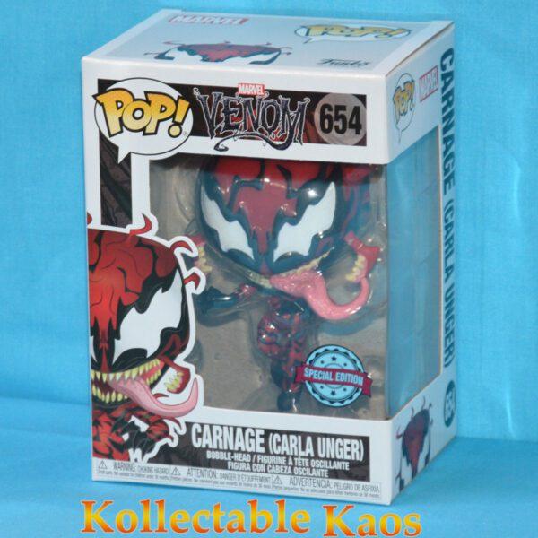 Spider-Man - Carla Unger Carnage Pop! Vinyl Figure
