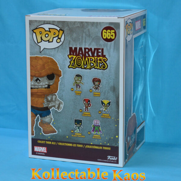 2020 SCE - Marvel Zombies - Zombie the Thing Pop! Vinyl 2-Pack