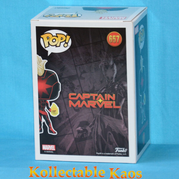 2020 SCE - Marvel - Dark Captain Marvel Pop! Vinyl Figure