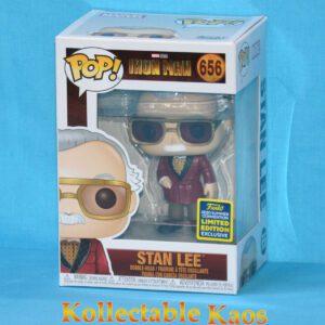 2020 SCE - Ironman - Stan Lee Pop! Vinyl Figure