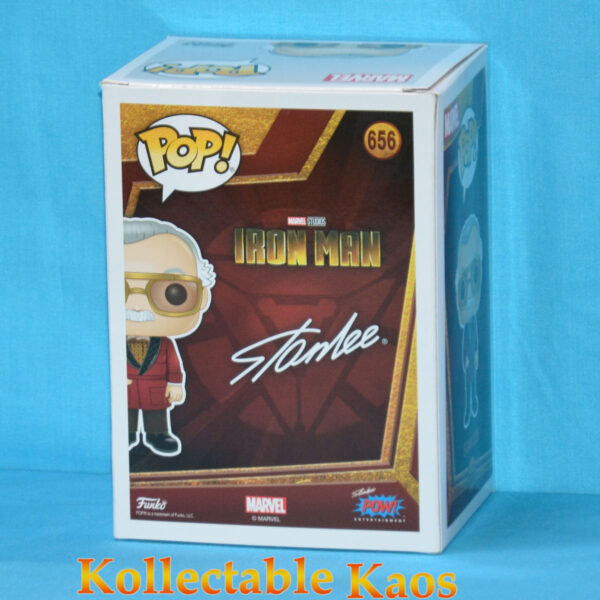 2020 SCE - Ironman - Stan Lee Pop! Vinyl Figure