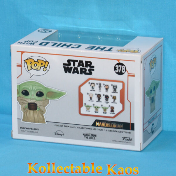 Star Wars: The Mandalorian - The Child with Cup Pop! Vinyl Figure