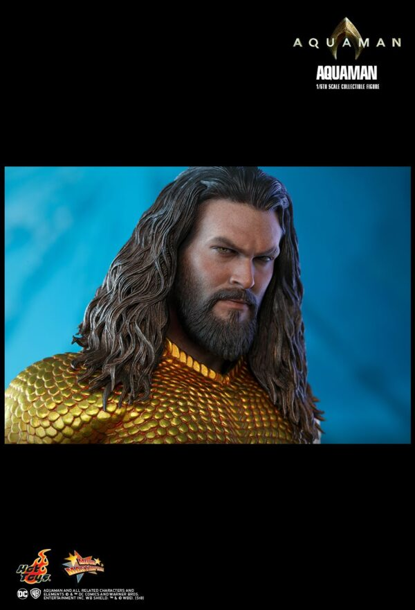 Aquaman (2018) - Aquaman 1/6th Scale Hot Toys Action Figure