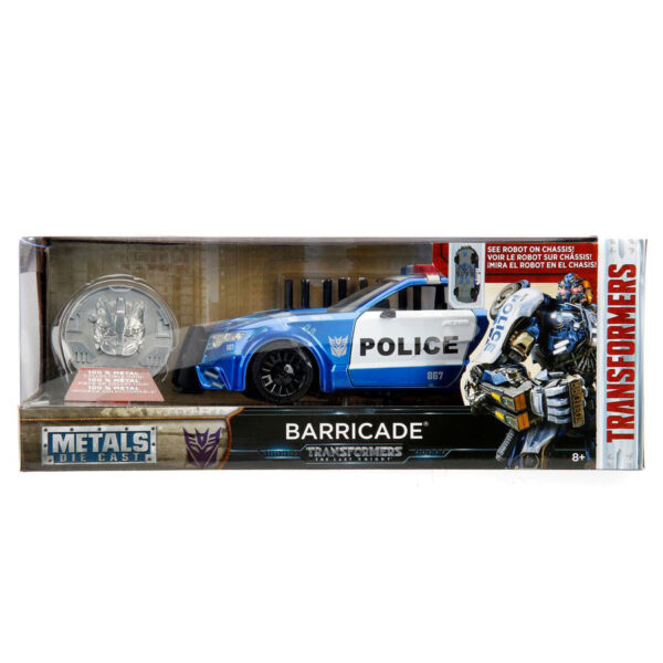 1:24 Jada Hollywood Rides - Transformers - Ford Mustang Barricade