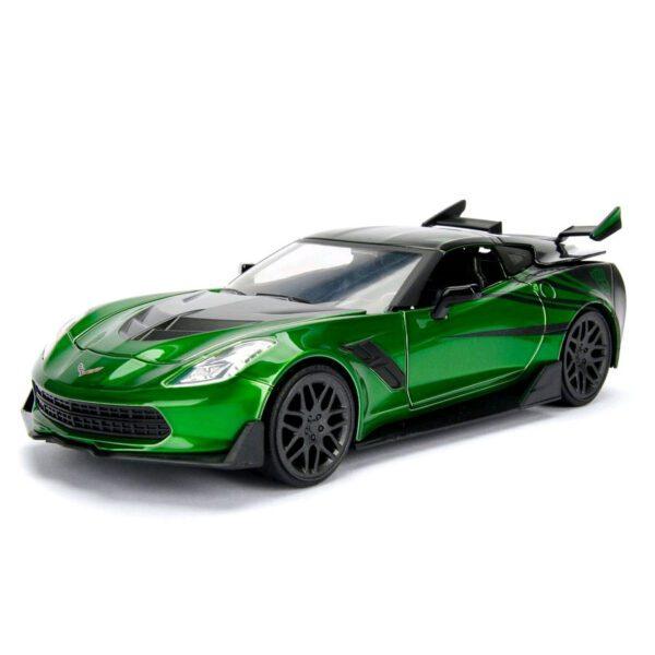 1:24 Jada Hollywood Rides - Transformers - Chevy Corvette Stingray Crosshairs