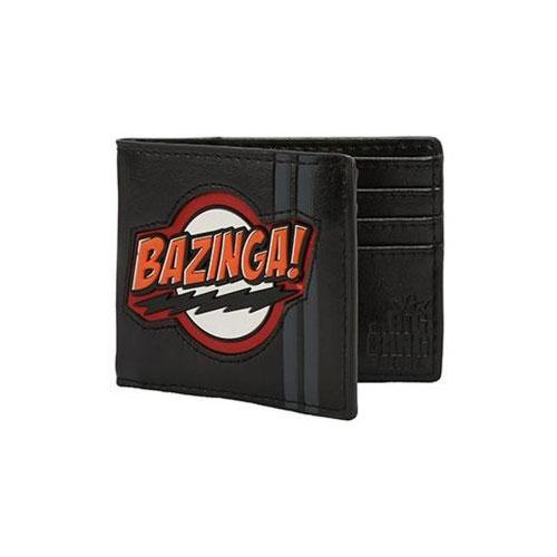 Big Bang Theory Bazinga Rubber Patch Bi-fold Wallet