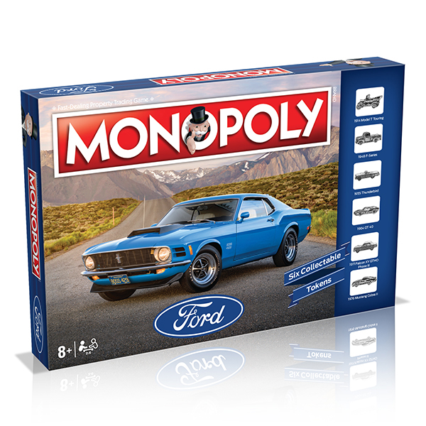 Monopoly - Ford Edition Board Game