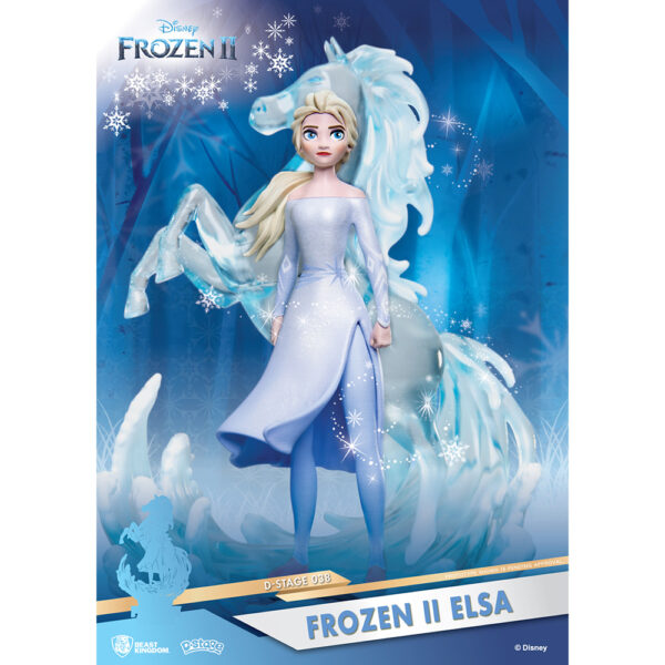 Diorama Stage - Frozen 2 Elsa