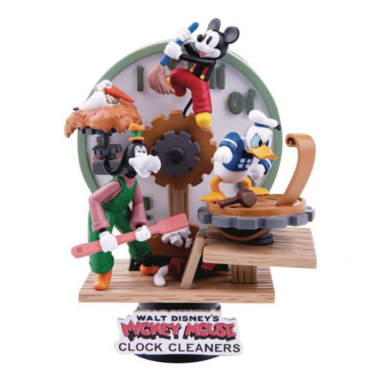 Diorama Stage - Disney Mickey Mouse Clock Cleaners