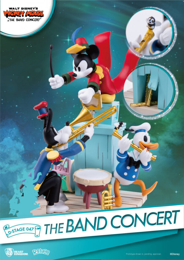 Diorama Stage - Disney Mickey Mouse The Band Concert