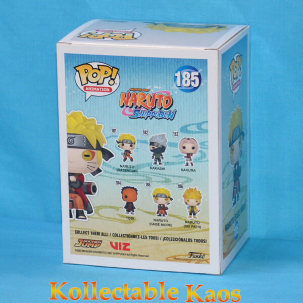 Naruto: Shippuden - Sage Mode Naruto Pop! Vinyl Figure