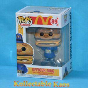 Ad Icons - McDonald's - Officer Big Mac Pop! Vinyl Figure