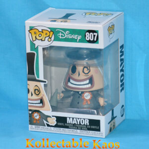 The Nightmare Before Christmas - Mayor with Megaphone Pop! Vinyl Figure