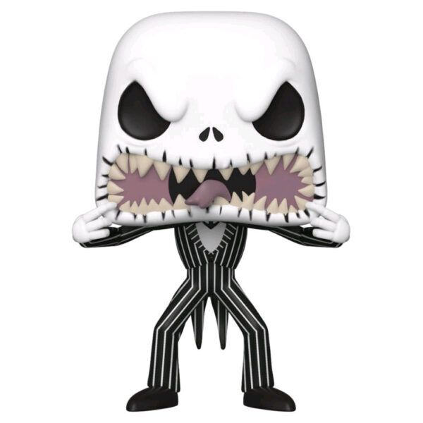 The Nightmare Before Christmas - Jack Skellington with Scary Face Pop! Vinyl Figure