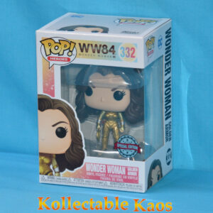 Wonder Woman 1984 - Wonder Woman Gold Armour with No Wings Pop! Vinyl Figure