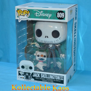 "The Nightmare Before Christmas - Jack Skellington with Zero 25cm(10"") Pop! Vinyl Figure"