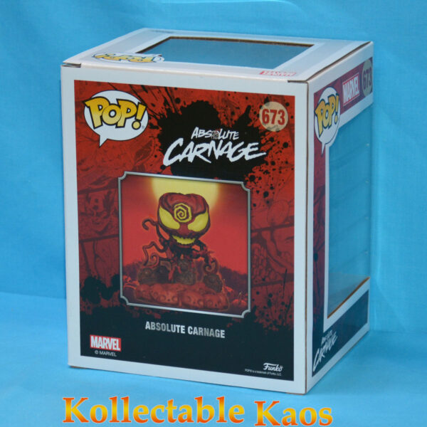Spider-Man - Absolute Carnage on Headstone Deluxe Pop! Vinyl Figure