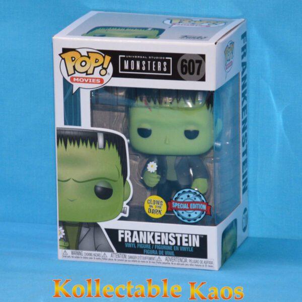 Universal Monsters - Frankenstein with Flower Glow in the Dark Pop! Vinyl Figure