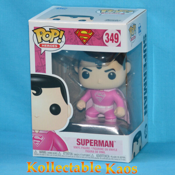 Superman - Superman Breast Cancer Awareness Pop! Vinyl Figure