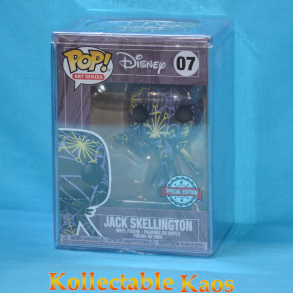 NBX - Jack Skellington Artist Series Pop! Vinyl Figure with Pop! Protector