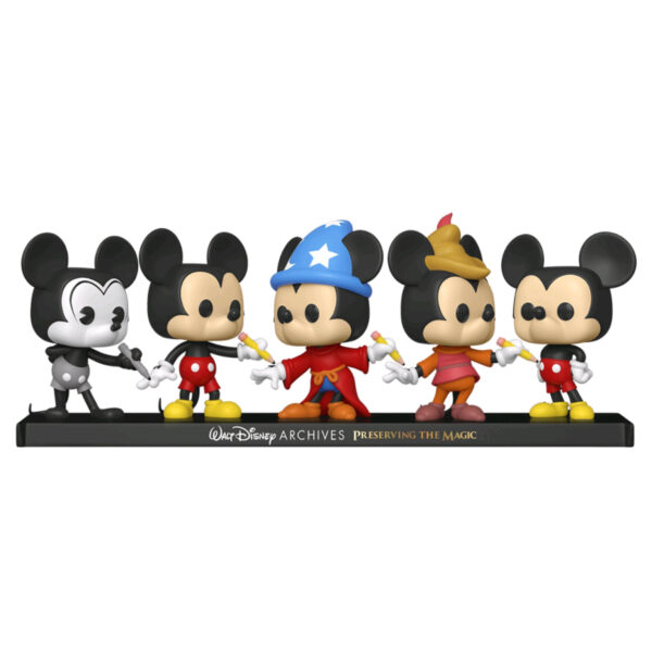 Disney Archives - Mickey Mouse 50th Anniversary Pop! Vinyl Figure 5-Pack