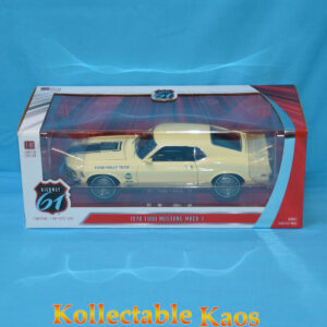 1:18 Greenlight - 1970 Ford Mustang Mach 1 - Ford Rally Team