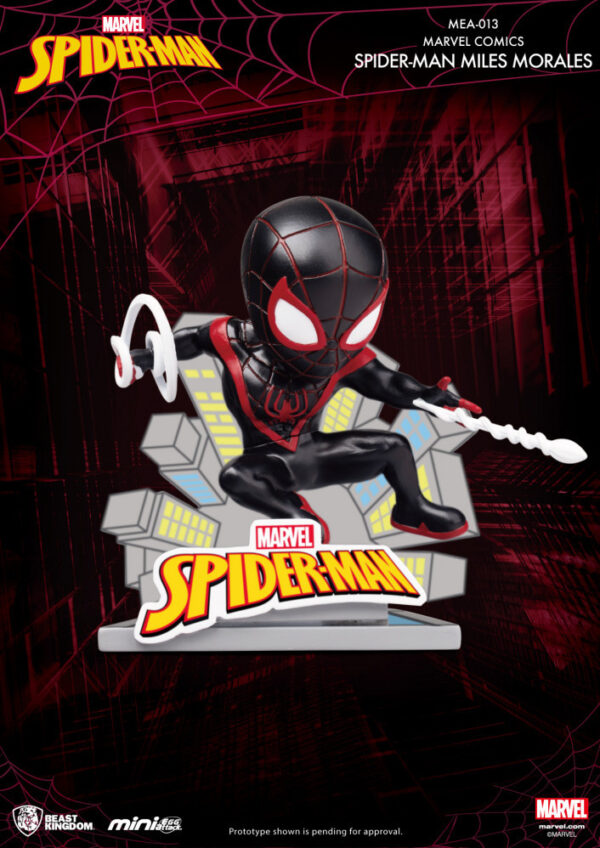 Mini Egg Attack - Marvel Comics Spiderman Miles Morales