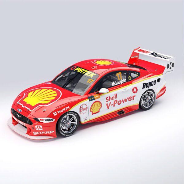 1:43 2019 Championship Winner - Shell V-Power #17 - Ford Mustang GT Supercar - McLaughlin