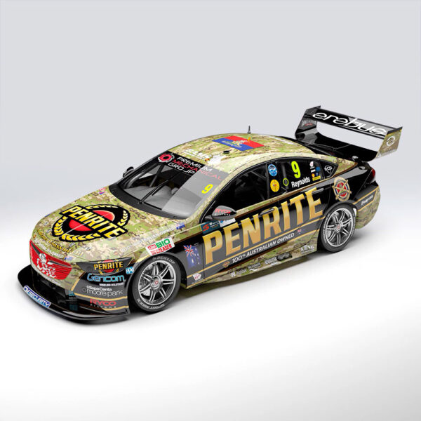 1:18 2019 Townsville 400 Camouflage Livery - Erebus Penrite Racing #9 - Holden ZB Commodore - David Reynolds