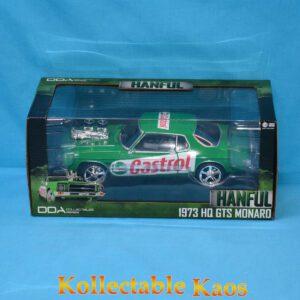 1:24 DDA - Castrol Hanful - 1973 HQ GTS Monaro - Custom Green