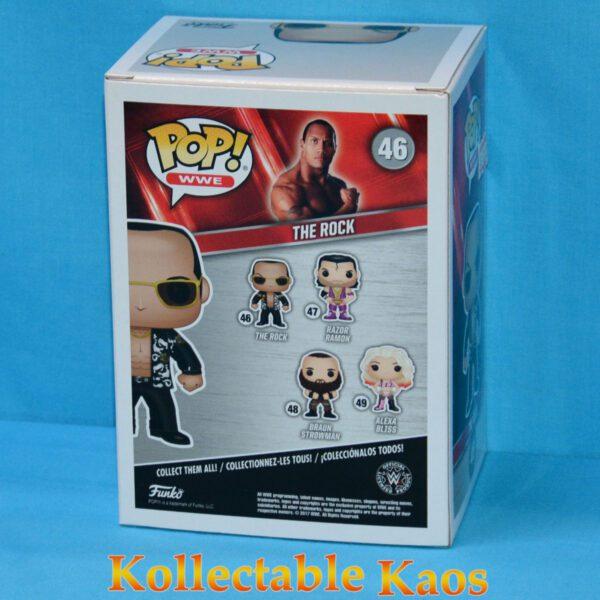 WWE - The Rock with Black Jacket Pop! Vinyl