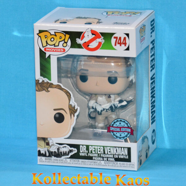 Ghostbusters - Dr. Peter Venkman Marshmallow Covered Pop! Vinyl Figure