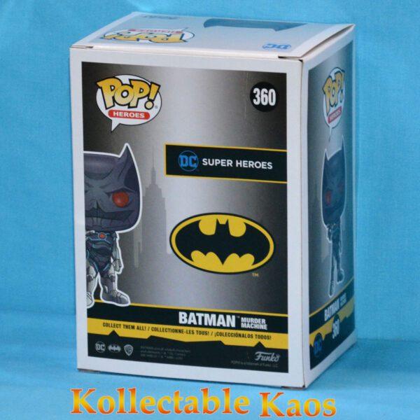 Batman - Murder Machine Batman Metallic Pop! Vinyl Figure