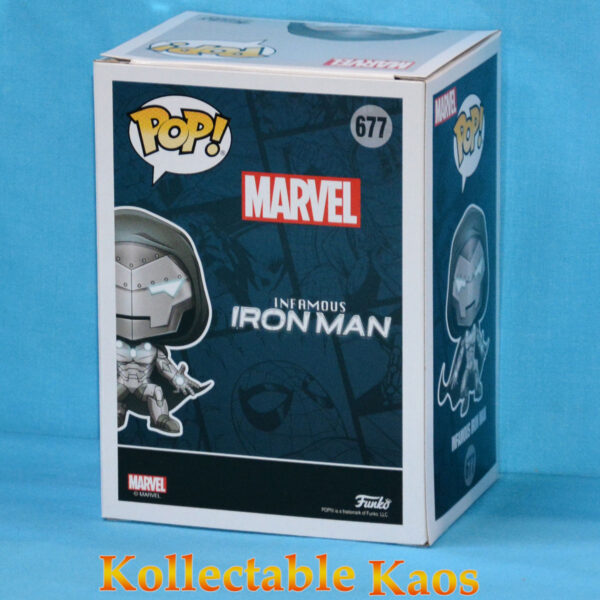 Iron Man - Infamous Iron Man Glow in the Dark Pop! Vinyl Figure