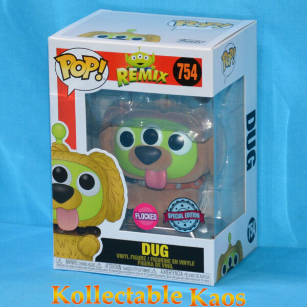 Pixar - Alien Remix Dug Flocked Pop! Vinyl Figure