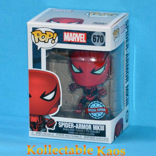 Spider-Man - Spider-Armor MKIII Pop! Vinyl Figure