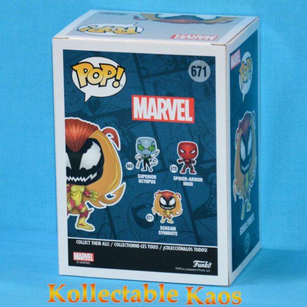 Spider-Man - Scream Symbiote Pop! Vinyl Figure