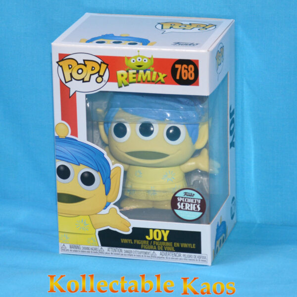 Pixar - Alien Remix Joy Pop! Vinyl Figure
