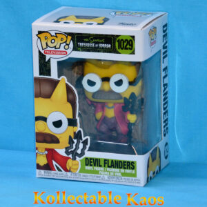 The Simpsons - Devil Flanders Pop! Vinyl Figure