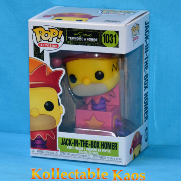 The Simpsons - Jack-in-the-Box Homer Pop! Vinyl Figure