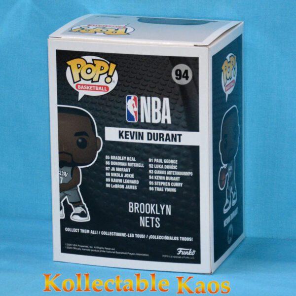 NBA Basketball - Kevin Durant Brooklyn Nets Pop! Vinyl Figure