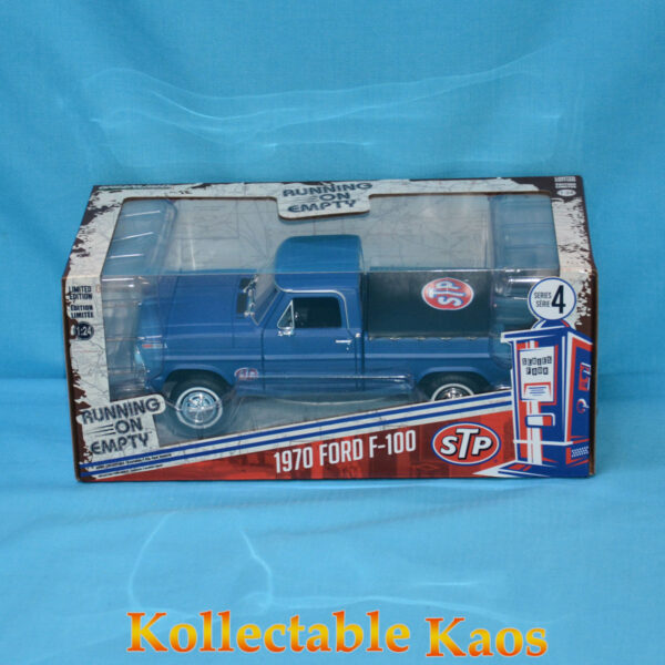 1:24 Greenlight - STP 1970 Ford F-100 with Bed Cover