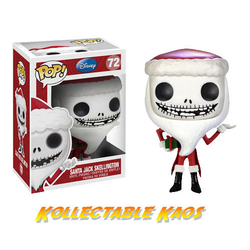 Nightmare Before Christmas NBX - Santa Jack Pop! Vinyl Figure