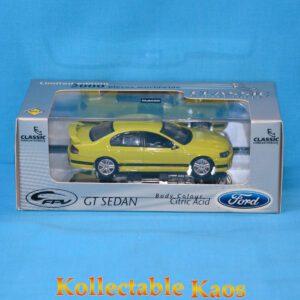 1:43 Classics - Ford FPV GT Sedan - Citric Acid