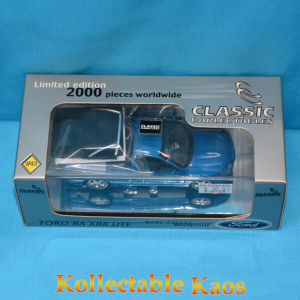 1:43 Classics - Ford BA XR8 Ute - Blueprint
