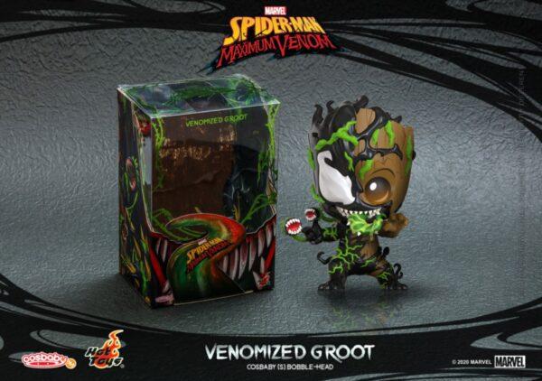 Spider-Man: Maximum Venom - Venomized Groot Cosbaby (S) Hot Toys Figure