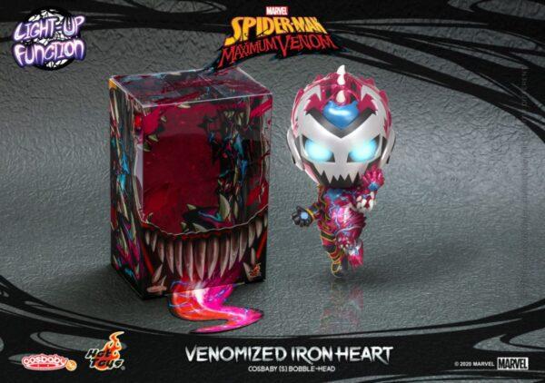 Spider-Man: Maximum Venom - Venomized Ironheart Cosbaby (S) Hot Toys Figure
