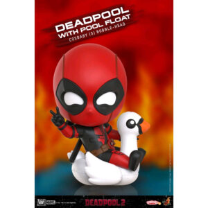Deadpool 2 - Deadpool with Pool Float Cosbaby (S) Hot Toys Figure